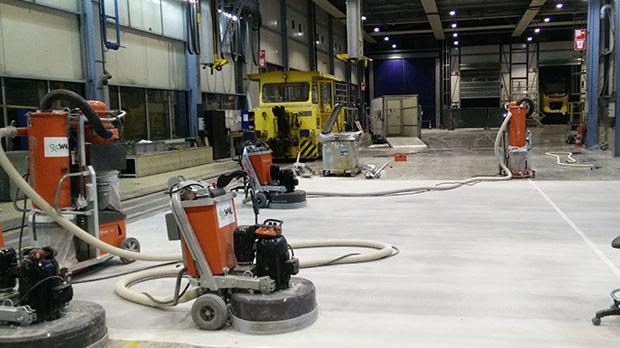 Een gepolijste betonvloer het alternatief voor coating! u2013 bouwtotaal