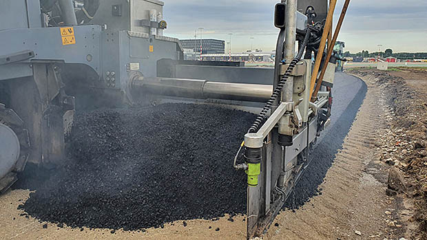 asfalt machine