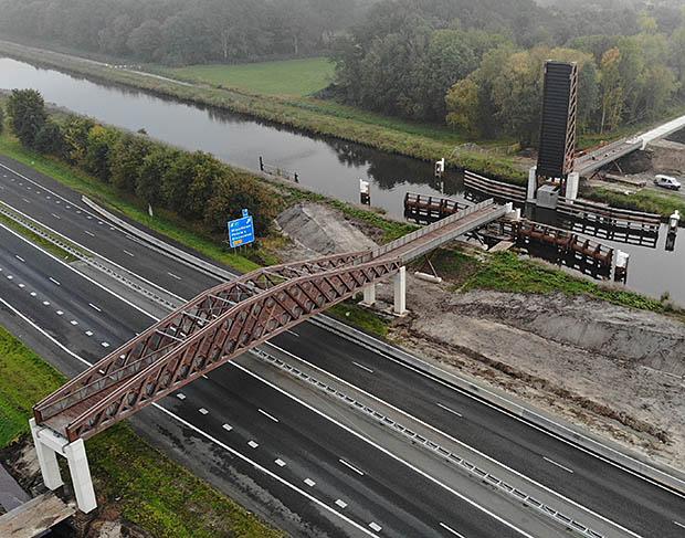 brug van boven