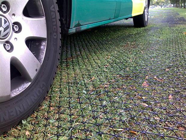 groen wegdek