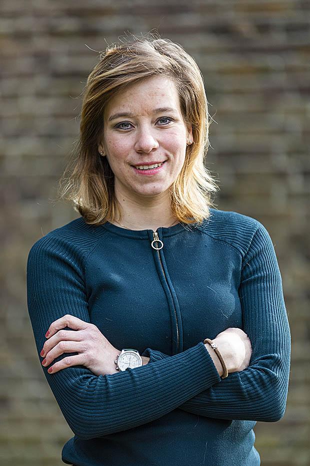 Procescoördinator Anne-Juliet Kroeze